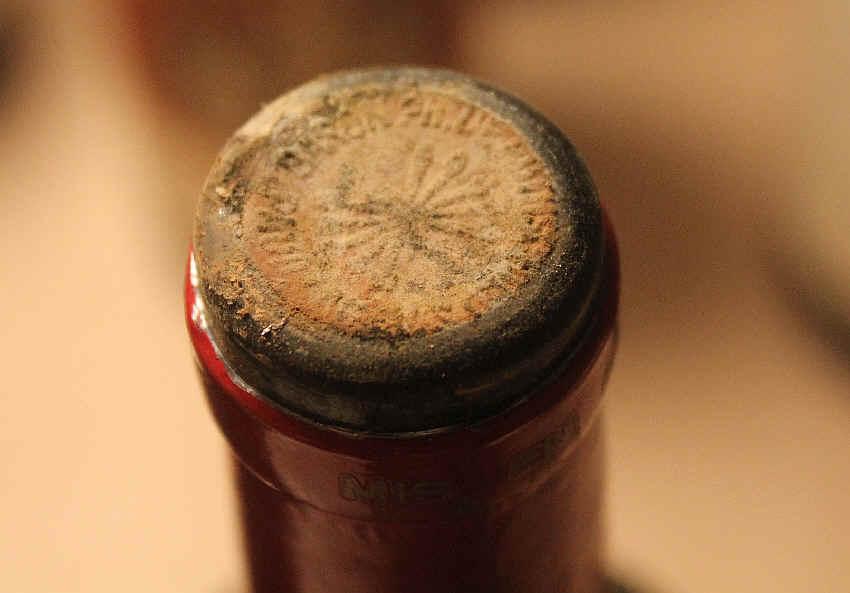 Moldy Wine Bottle Moldy Cork