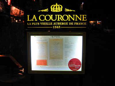 Francesca Restaurant Menu Paris